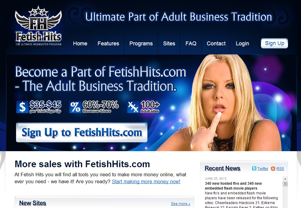 Fetish Hits Fetish Hits Affiliate Review