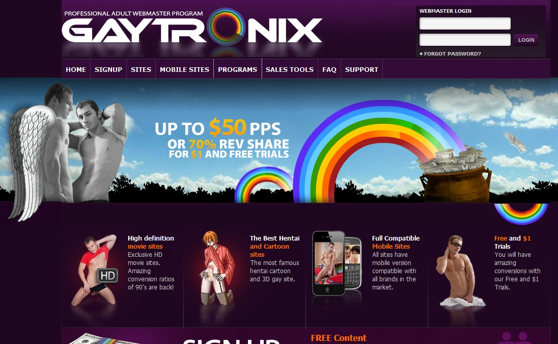gaytronix Gaytronix Affiliate Review